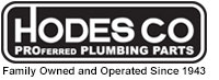 Hodes Company Wholesale Plumbing Parts and Plumbing Supply Distributer